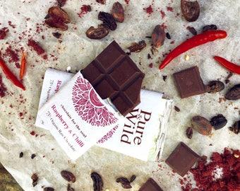 Luxury Raw Organc chocolate bars
