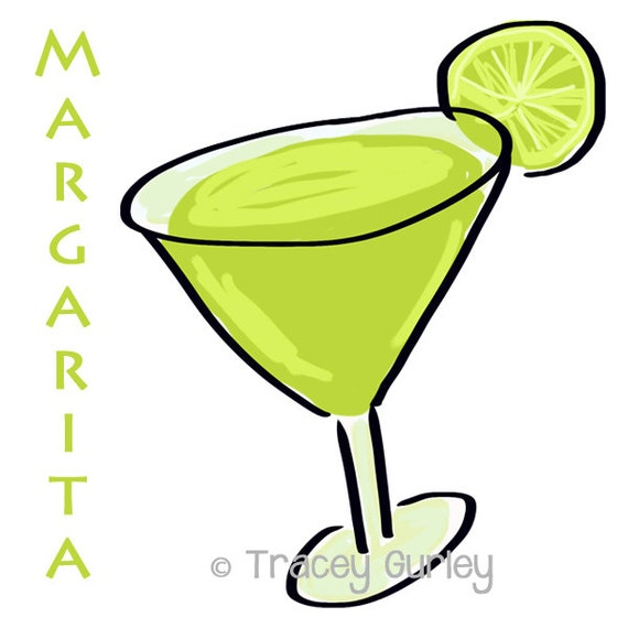 margarita illustration original art digital download rh etsy com margarita clip art free images margarita clipart png