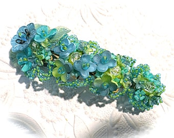 Vintage Colleen Toland Barrette Hair Clip Hair Accessories VA-292