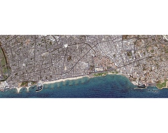 I MISS TLV (2013) - 16x48 Inch Limited Edition Canvas Art