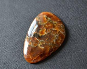 Simbircite  natural stone cabochon 50 x 33 x 6 mm