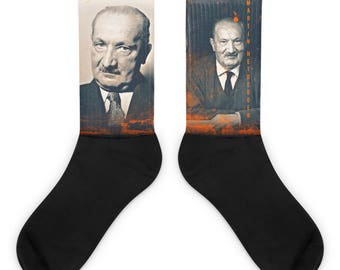 Martin Heidegger Socks