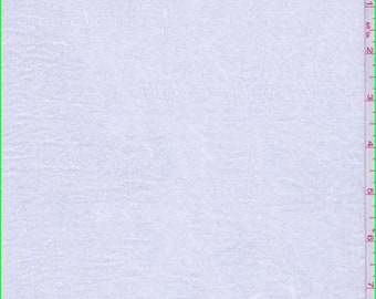 White Shimmer Lawn, Fabric By The Yard