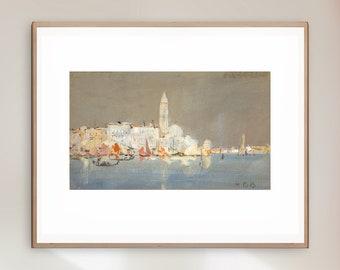 Hercules Brabazon Brabazon - View of Venice - Giclee Print
