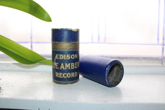 Antique Edison Cylinder Record 2804 Henry Gibson's Narrow Escape
