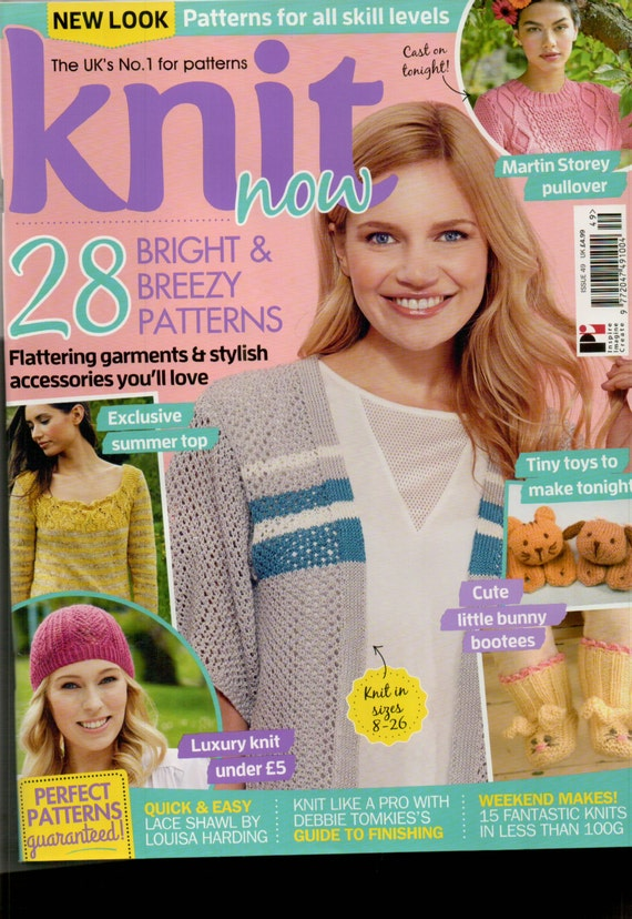 Knit Now Knitting Magazine Issue 49 Jule 2015