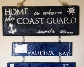 Home is Where the Coast Guard sends you...
