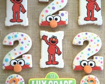 ELMO Sesame Street Sugar Cookies