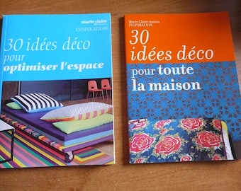 2 booklets with ideas décoration for home - Marie claire home inspiration - 2010 - french booklets