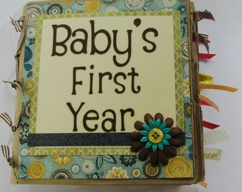 Baby's First Year Scrapbook