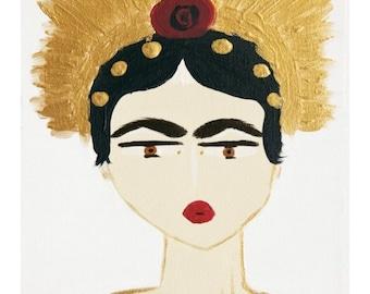 Indonesian Inspired Illustration. 8x10 Giclee print.