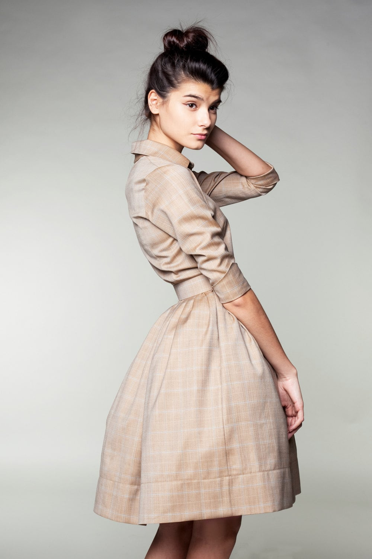 Formale Kleid wolle einfache Brautkleid lässig Brautkleid