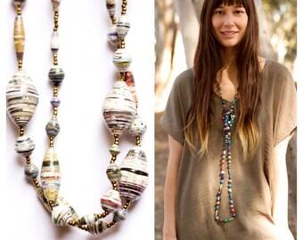 Long Multicolor Necklace