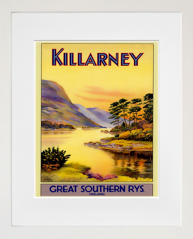 Irish Wall Art Ireland Print Travel Poster Home Decor ZT661