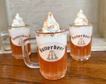 """American Food 18"""" Girl Doll Butterbeer Harry Potter Inspired Miniature Drink Doll Accessory 1:3 Scale Doll Drink, Knick Knack"""