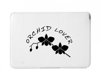Orchid lover decal