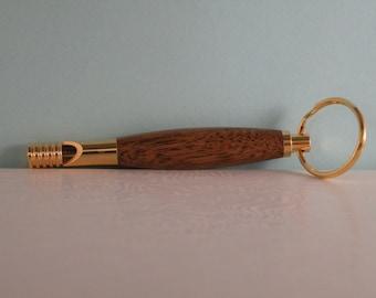 Whistle, walnut