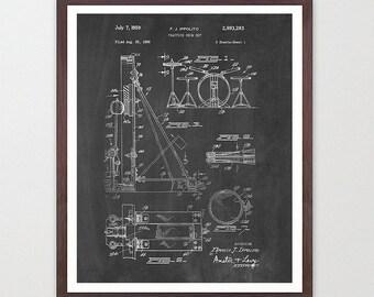 Drumset Patent - Drums - Drummer - Drum Art - Drum Wall Art - Drum Kit - Drum Kit Patent - Drum Set Art - Music Patent - Music Art -Musician