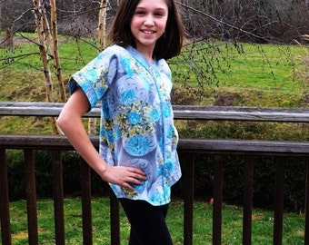 Old Tyme Baseball Shirt for Boys and Girls, Unisex, Tween's Size 8-16