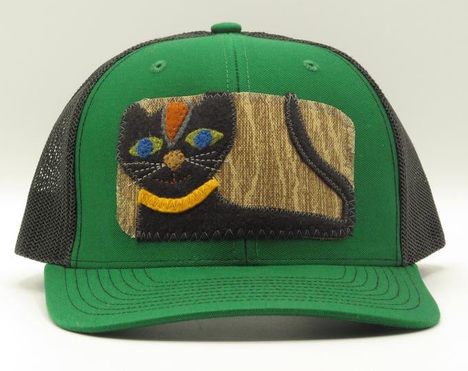 Wise Black Cat Trucker Hat