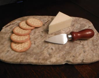 Natural Stone Platter Cheese Charcuterie Board