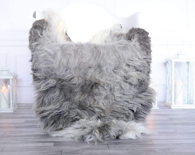 Organic Sheepskin Rug, Real Sheepskin Rug, Gute Sheepskin, Christmas Home Decor, Grey  Sheepskin Rug #OCTGUTE23