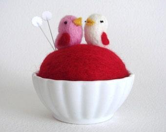 Lovebird Pincushion
