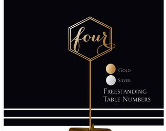 Wedding table numbers. Wedding signs. Table numbers gold table numbers, Rustic signs. Table decoration. Numbers with base.Wood table numbers