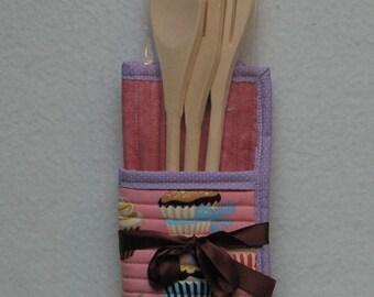 Cupcake Potholder Gift Set