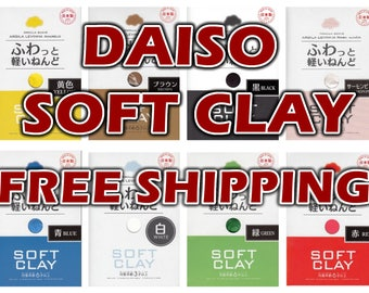 DAISO SOFT CLAY (perfect for handmade butter slime!)