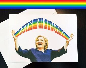 LGBT Birthday - Hillary