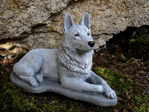 German Shepherd Statue Concrete Dog Statues Cement Statue