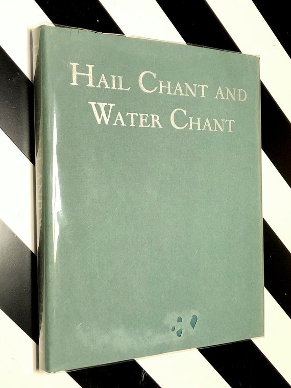 Hail Chant and Water Chant by Mary C. Wheelwright (1946) first edition book