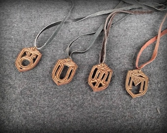 Pendants made of leather four seasons,leather goods