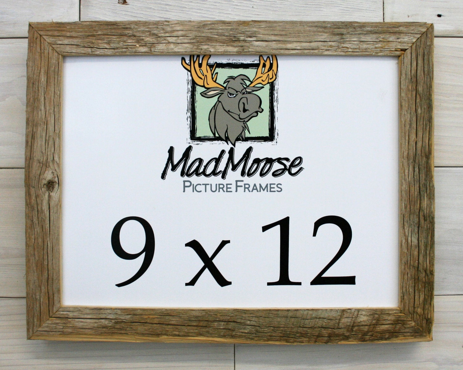 9x12 BarnWood [Chunky x 1.25] Picture Frame