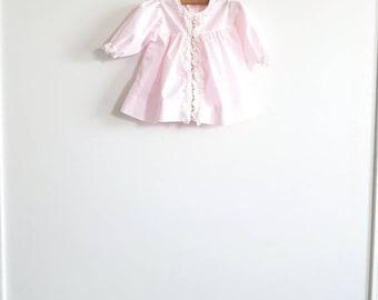 Vintage Light Pink Baby Girl Dress
