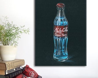 Mini Kühlschrank Nuka Cola : Nuka cola quantum lampenfuß