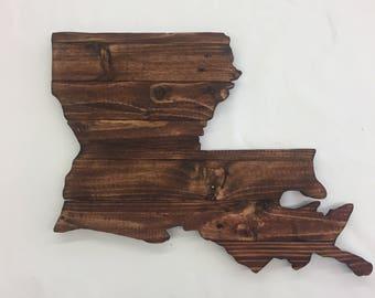 Louisiana State Sign