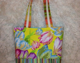 Blooming Tulips Tote