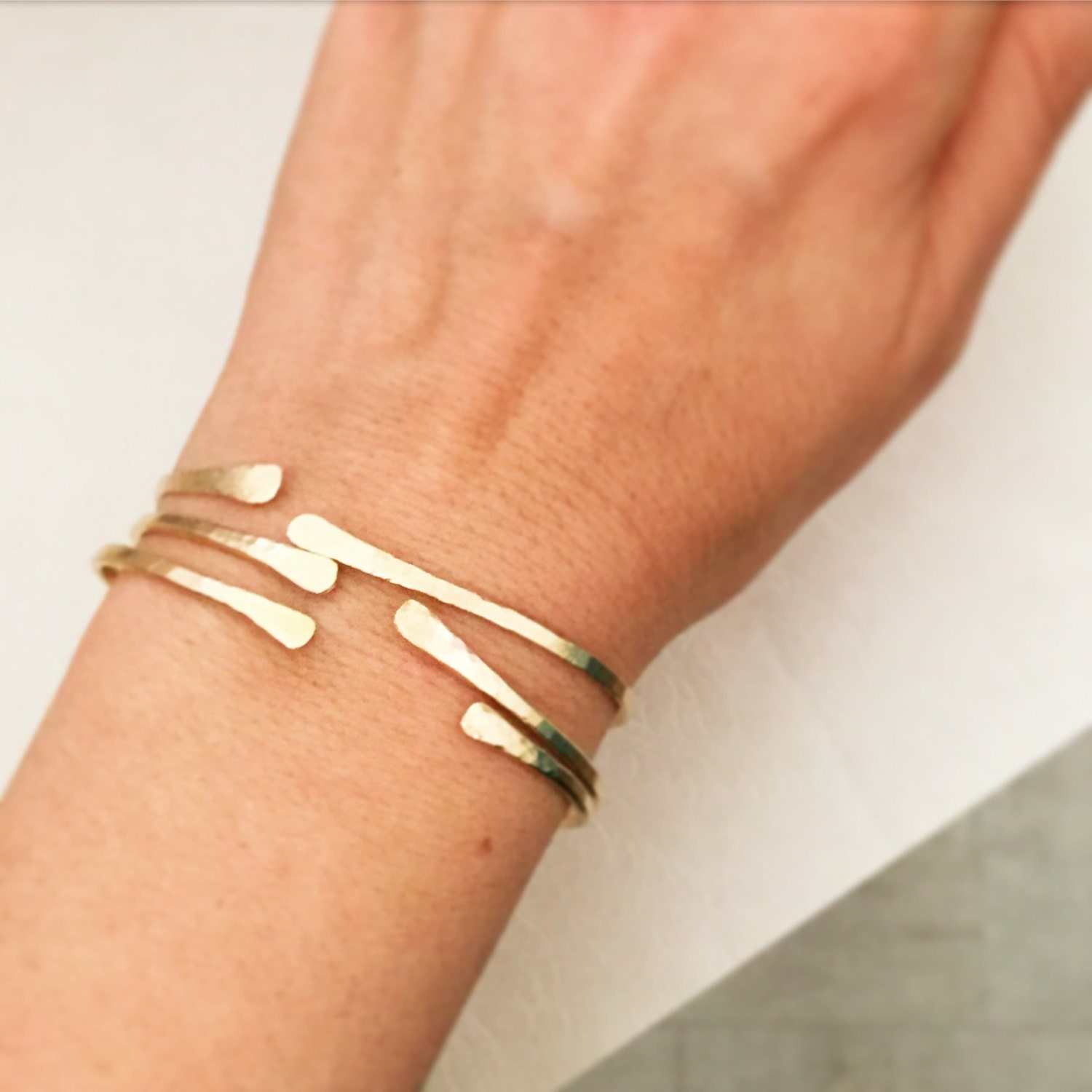 open bangle bangles gold happiness en minimalist bracelets style boutique