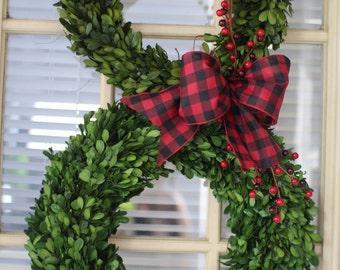 Christmas wreath ,Snowman Wreath , Boxwood wreath ,Preserved Boxwood Wreath , wreath outdoor wreath ,Front door Wreath