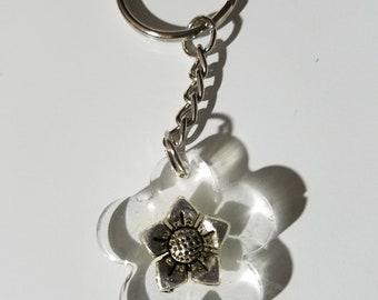 resin bracelet mini lanyard strap charm flower rose