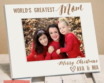 Personalized Mothers Day Gift -Mothers Day Frame -First Mothers Day Picture Frame-Worlds Best Mom Frame-First Time Mothers Gift-Gift For Mom