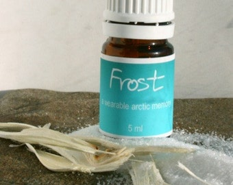 Frost - Kaniq - a wearable scent memory - artisan oil - Mint, sugar, grapefruit, incense, coffee