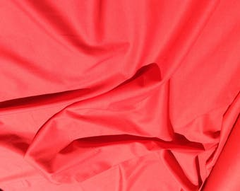 Plain cotton lawn fabric, red no41