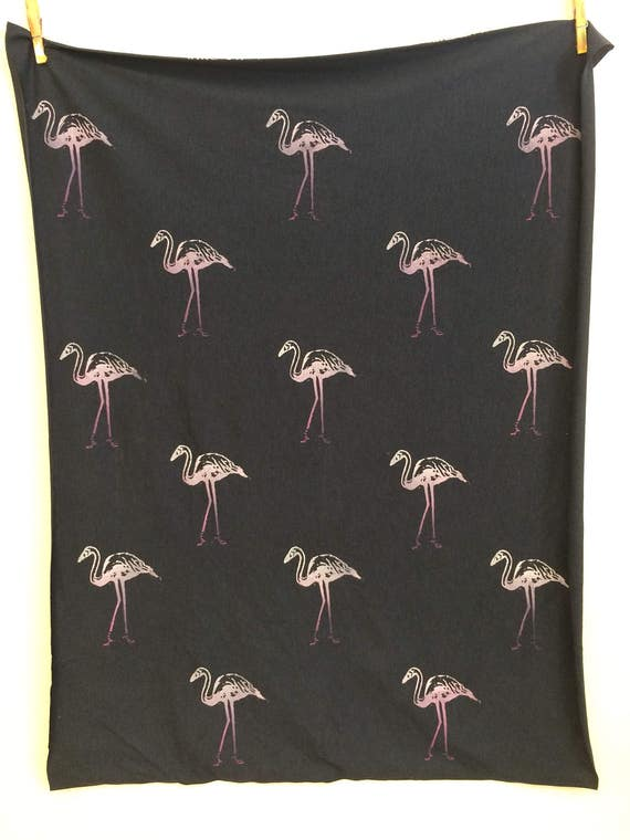 Pink Flamingos infinity scarf