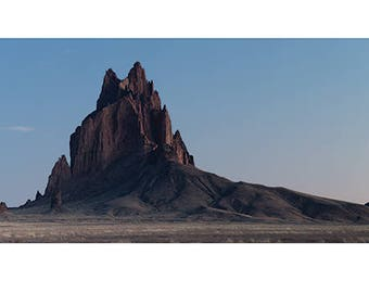 David Clapp (Ship Rock, New Mexico) Art Print 100 x 50cm  PPR41150