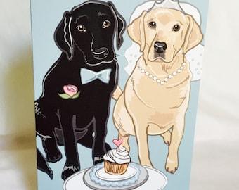Wedding Labs - Greeting Card