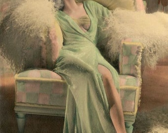 Dressing Robe- Haute Couture 1930 Jean Harlow Inspired