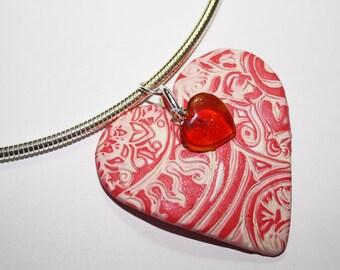 Red Heart Pendant
